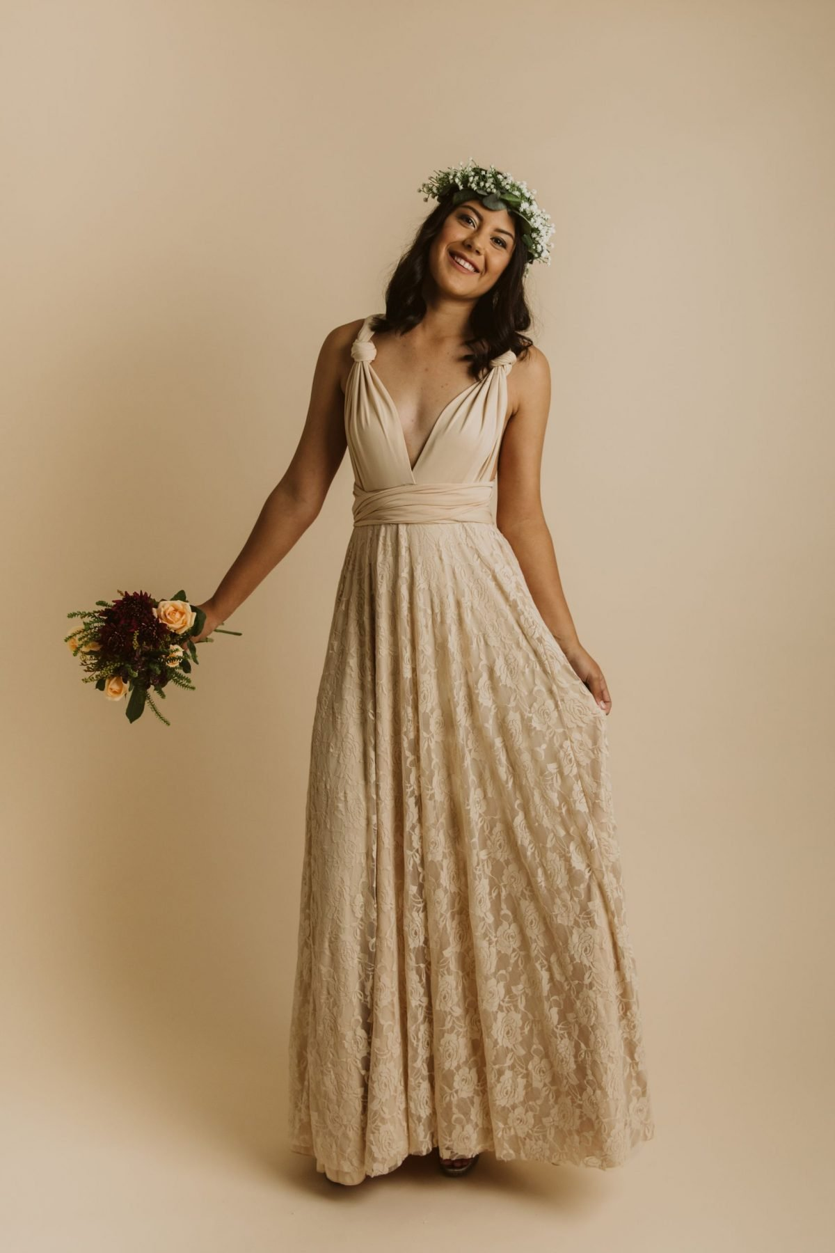 Lace Bridesmaid Dress NZ