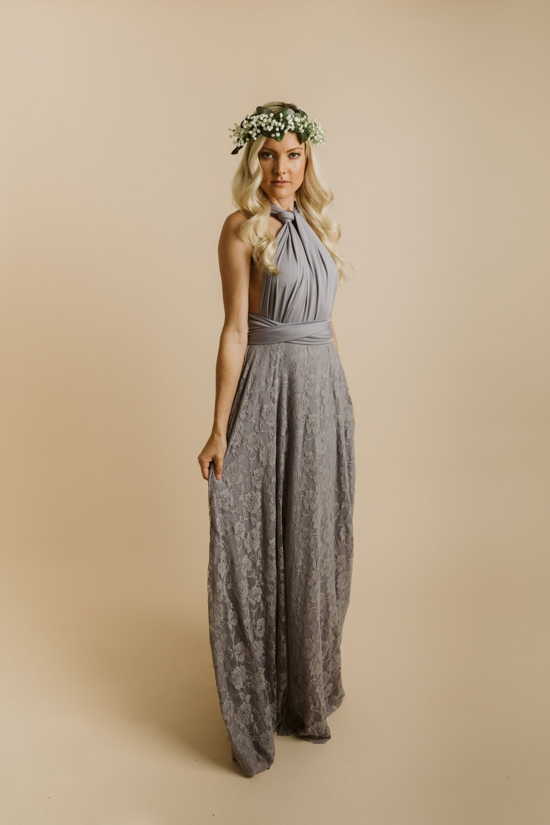 3bf3d3925bcd Cassandra Dress in Sterling Grey (ONLY TWO LEFT) - Baby s Breath ...