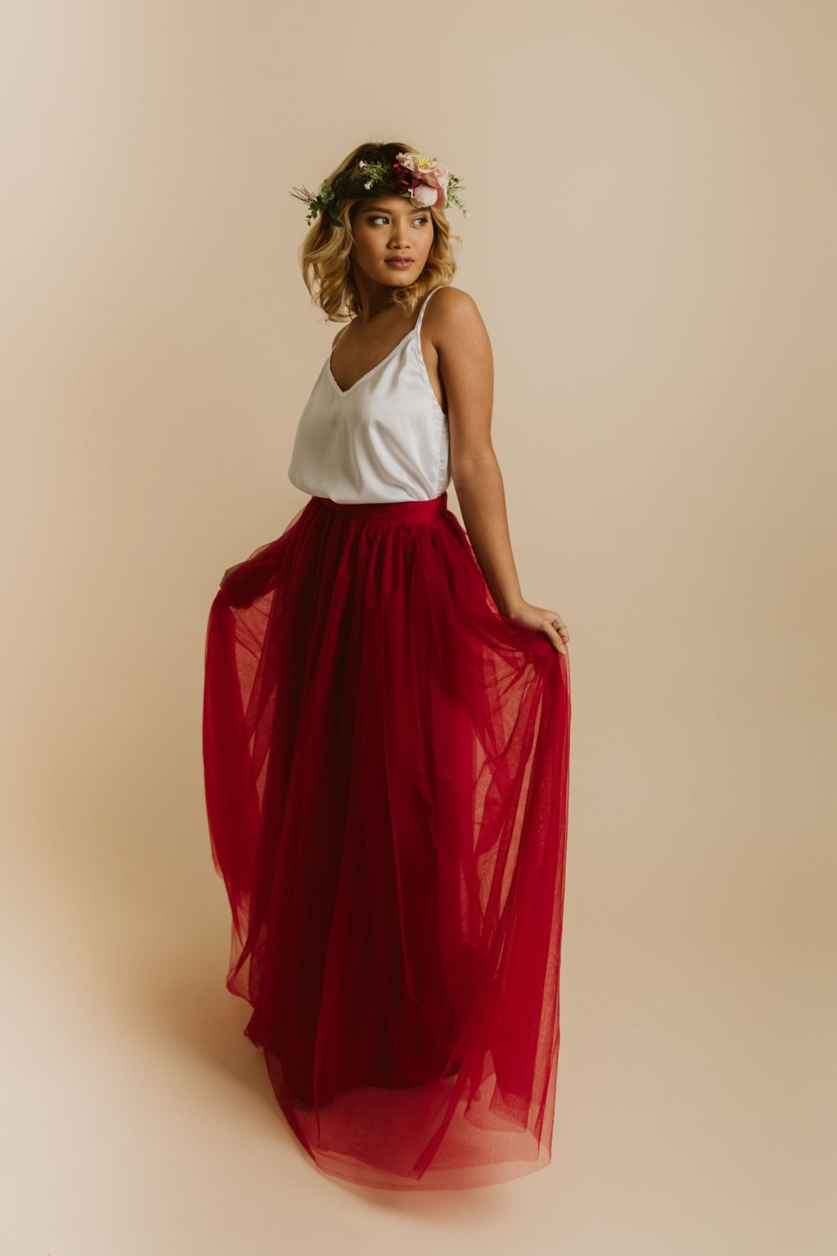 Bridesmaid Skirt and Top