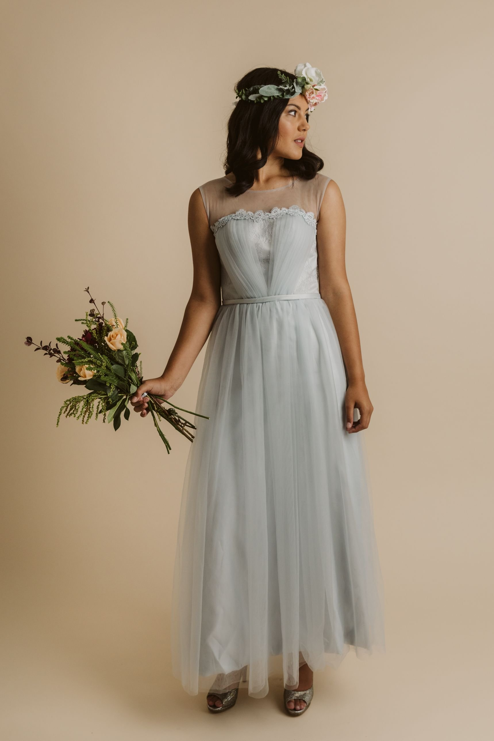 Lena Dress Baby S Breath Bridesmaids