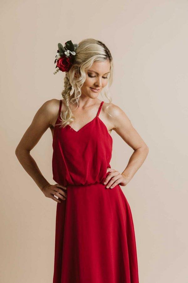 Annabelle Chiffon Maxi Dress