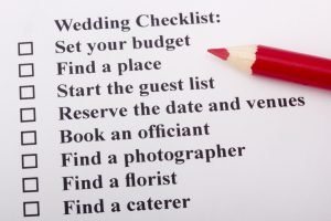 Simple Wedding Checklist to Prepare for Your Big Day