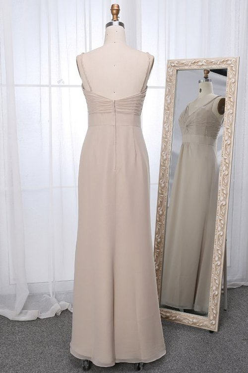 Belva dress in linen colour back view