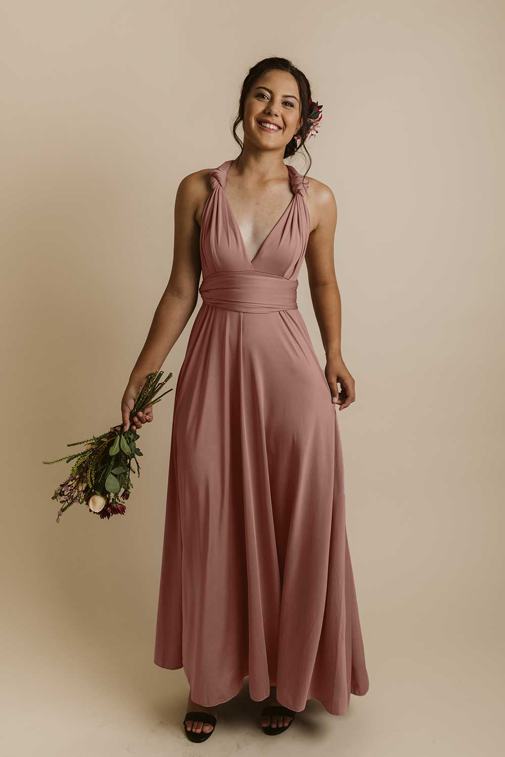 Evelyn Infinity Multiway Dress Baby S Breath Bridesmaids