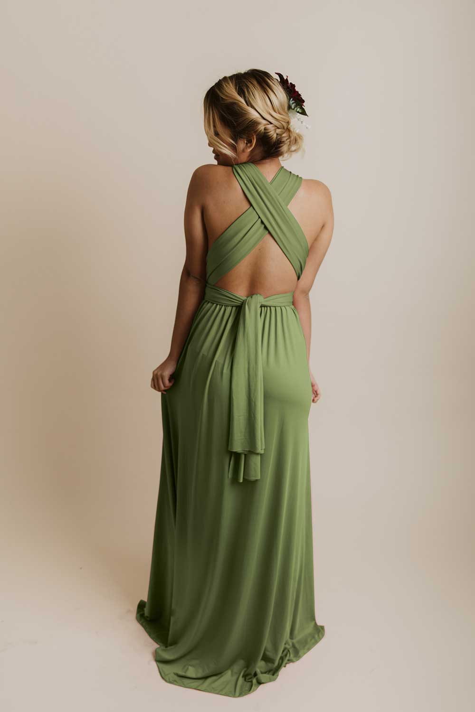 evelyn infinity dress